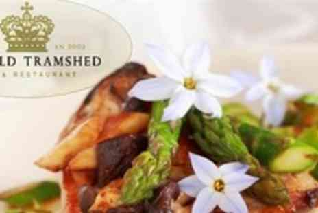 The Old Tramshed - Two Courses of British Fare Four - Save 65%
