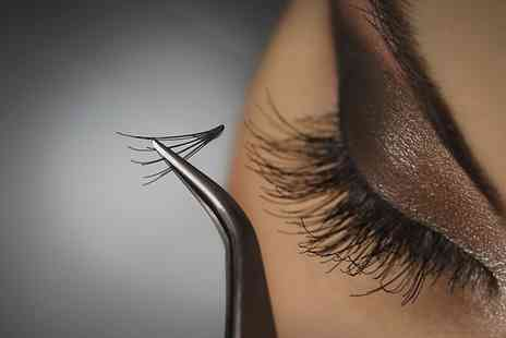 Krem Beauty Clinic - Eyelash or Eyebrow Extensions Plus Brow Shape and Tint  - Save 80%
