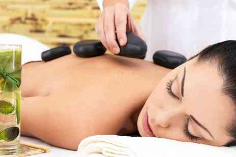 Royas Hair and Beauty  - Womens Hot Stone Massage  Plus Facial   - Save 69%