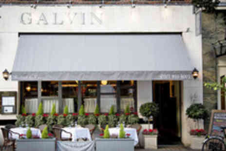 Galvin Bistrot de Luxe - Double AA Rosette Five Dish Tasting Menu   - Save 0%
