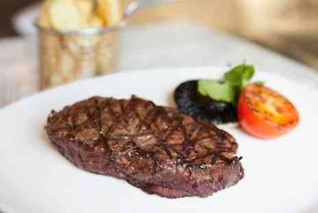 Kettners - Steak Meal With Champagne  - Save 54%