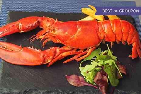 The Lavender - Four Course Seafood Menu With Lobster For Two  - Save 56%