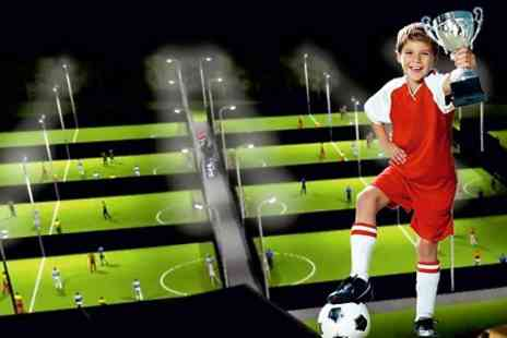Goals Soccer Centre HO - Football Birthday Party For Up to Ten Children  - Save 46%