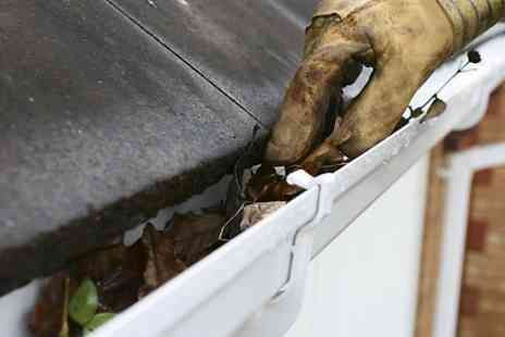 Gutter Repairs - Internal Gutter Clean  - Save 79%