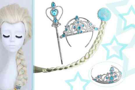 Jewelian - Princess Inspired Wig and Accessories - Save 60%