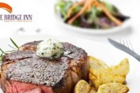 The Bridge Inn - Three Courses of Seasonal Fare For Four - Save 64%