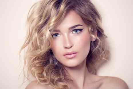 City Hair and Wax - Full Head Colour or T Section of Highlights Plus Cut, Condition and Blow Dry - Save 55%