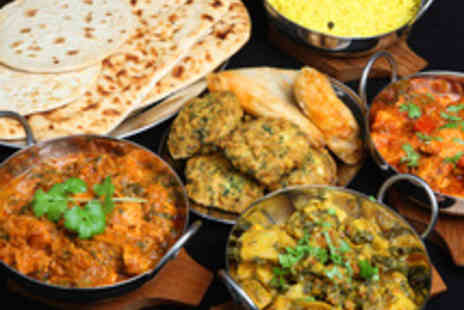 4550 Miles from Delhi - Delicious Two Course Indian Dining for Two - Save 43%
