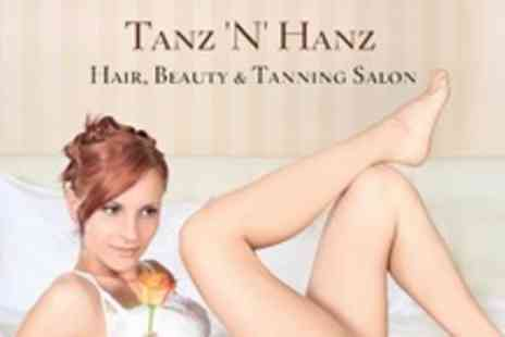 Tanz 'N' Hanz - Full Leg Wax and Brazilian Wax - Save 73%