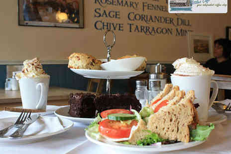 Vittles Cafe - Chocolate Afternoon Tea for Two   - Save 54%