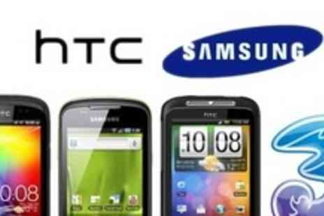 affordablemobiles.co.uk - HTC or Samsung Phone Plus Choice of Playstation 3, Xbox 360, GHDs - Save 92%