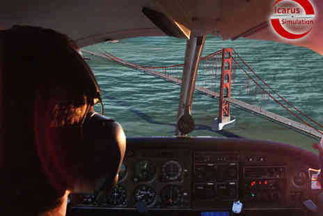 Icarus Simulation - 30 Minute or Hour Long Flight Simulator Experience - Save 46%