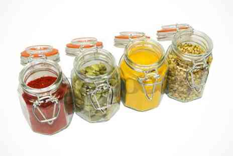 Mooch  - Glass Preserve Jars  - Save 55%