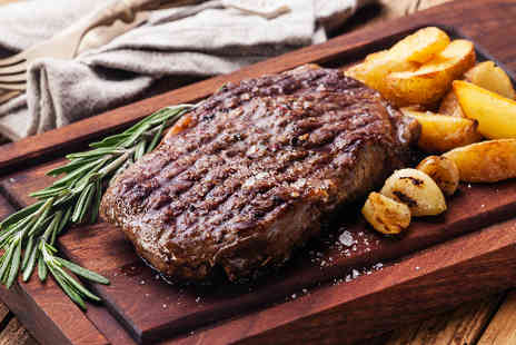 The Old Steps Bar & Bistro - Two Course Steak Meal for two  - Save 59%
