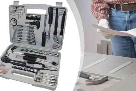 Qfonic Technology Distribution Network - 141 Piece Complete Tool Kit - Save 50%