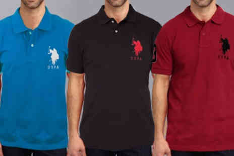 Intriangle Solutions - U.S. Polo Assn Slim Fit Polo Shirt - Save 69%