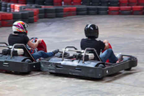 The Activity Superstore - 50 Lap Open Karting Race for Two  - Save 51%