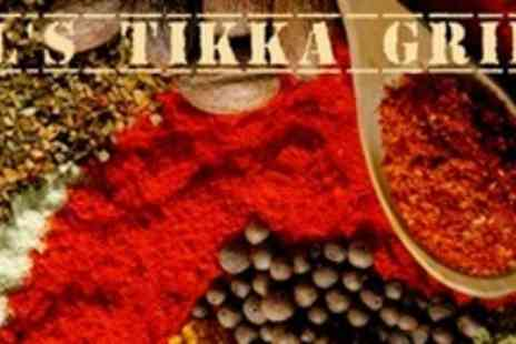 Al's Tikka Grill - Two Courses of Indian Cuisine For Six - Save 66%