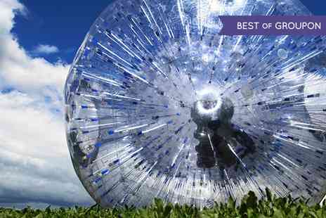 GO Zorbing London - Hydro or Harness Rides For Two With T Shirts - Save 0%