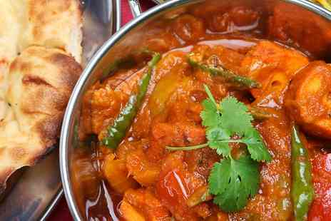 The Spice Barn - Indian Meal With Rice or Naan and Sides For Two - Save 59%