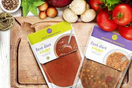 Fast Diet Kitchen -  Three week Supply of 5:2 Meals With Free Delivery  - Save 44%