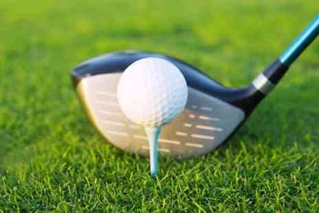 Ipswich Golf Centre - One or Two Hour Golf Lesson - Save 35%