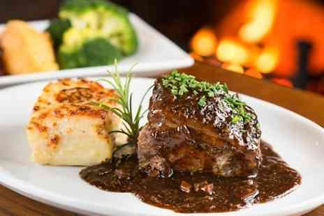 The Shoulder of Mutton Inn - Gastropub Meal With Wine For Two  - Save 53%