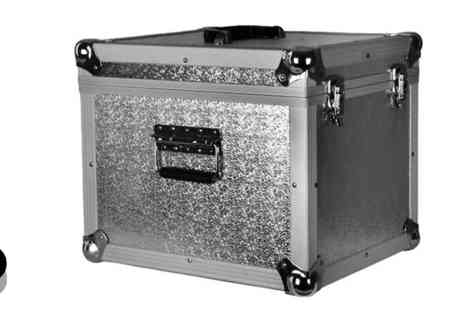 Matrix Media - Silver or Black Aluminium Carry Case Box - Save 0%