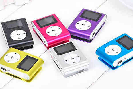 Eblacksquare - Mini Shuffle MP3 Player - Save 65%