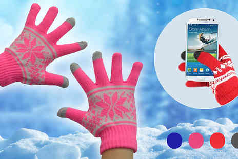 Wholesale Solutions - Unisex Touch Screen Gloves - Save 71%