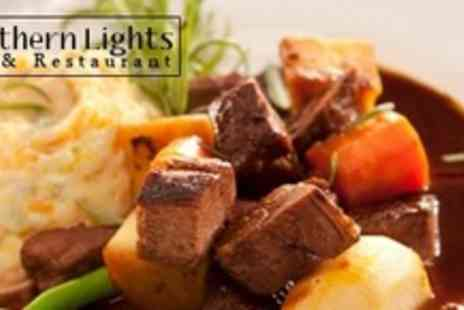 Northern Lights Bar - Two Courses of Modern Scottish Fare For Two With Bottle of Wine - Save 60%