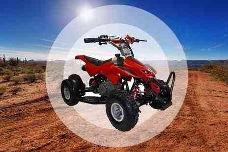 sssuperstore - Childrens 50cc Mini Moto Off Road Quad Bike - Save 51%