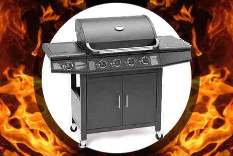 EVRE - FirePlus 4 plus1 Burner Barbeque Gas Grill - Save 68%