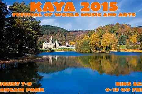 Kaya Family Festival of World Music - Entry to Kaya Festival with Free Kids - Save 35%