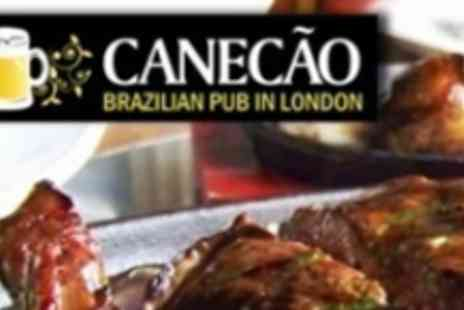 Canecao - Exotic three course Brazilian meal for two - Save 58%