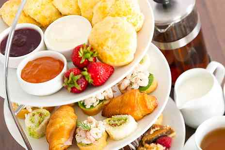 Shillingford Bridge Hotel - Sparkling or Pimms Afternoon Tea For Two  - Save 42%