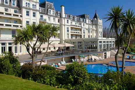 Grand Hotel - Cream Tea  With Spa Access For Two  - Save 50%