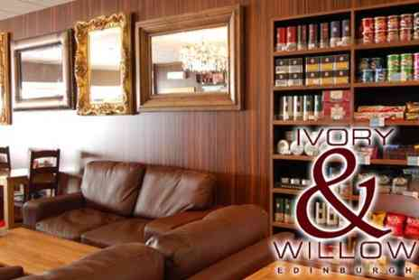 Ivory & Willow - Two Course Lunch with Tea or Coffee for Two for £8 - Save 59%