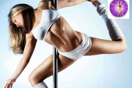 Twirl n Tone - Four 1½ Hour Pole Fitness Classes - Save 66%