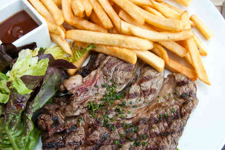The Duke Of Buckingham - Save on a steak meal with wine for two - Save 52%