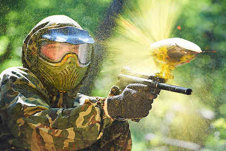 Nationwide Paintballing - Paintballing Day - Save 0%