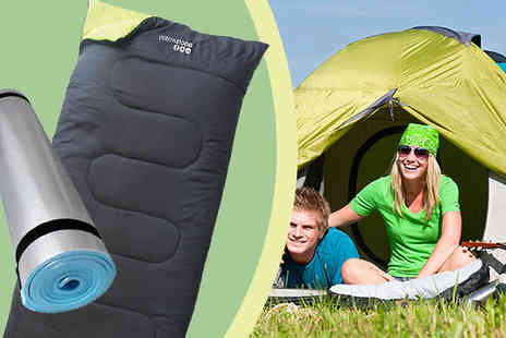 Online Gift Store - Yellowstone Sleeping Bag Bundle - Save 50%