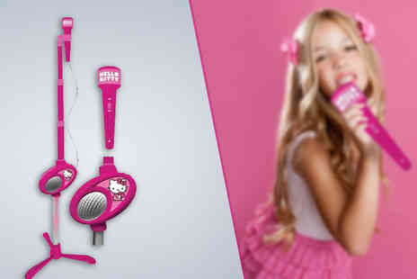 Sonic - Hello Kitty Microphone Set - Save 60%