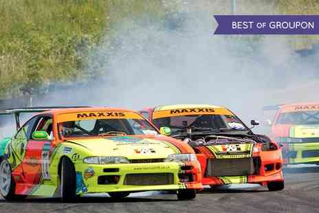 Slide School Drift Academy - Half Day  Learn2Drift Experience Plus Passenger Laps  - Save 65%