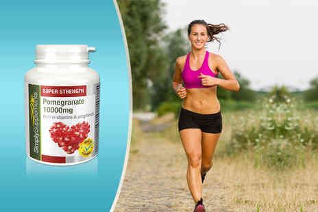 Pinnacle Health   -  10,000mg of super-strength pomegranate supplements Plus Delivery Included - Save 50%