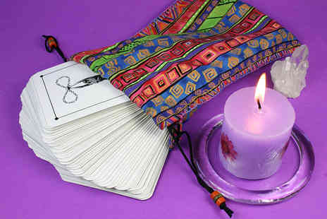 Mystic Jen - One hour tarot reading or Reiki relaxation session   - Save 78%