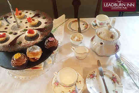 Leadburn Inn - Afternoon Tea for Two - Save 50%