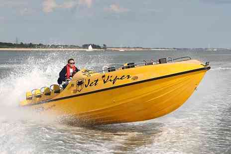 Saber Powersports - Two hour Jet Viper powerboating experience for 1 - Save 73%