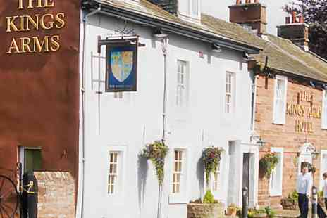 The Kings Arms - 1 night 4 Star Country House Hotel Stay - Save 0%