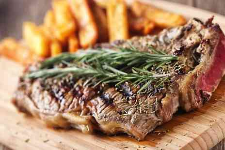 Ibrahims Grill and Steak House - Steak Meal With Sides and Drinks For Two - Save 55%